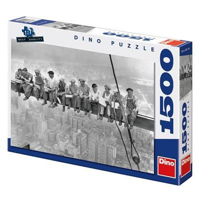 Workers on Girder 1500 puzzle dino