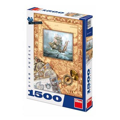 Overseas Discoveries 1500 puzzle Dino