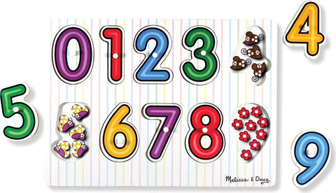 Numbers Peg Puzzle - Puzzlers Jordan
