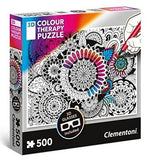 Flower - Color Therapy puzzle - Puzzlers Jordan