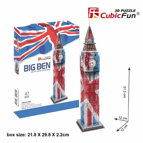 Big Ben (London) Flag - Puzzlers Jordan