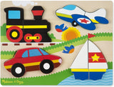 Vehicles Wooden Chunky Jigsaw Puzzle (20 pcs) - Puzzlers Jordan