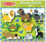 Pets Wooden Chunky Puzzle (8 pcs) - Puzzlers Jordan