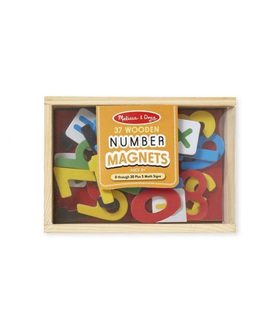 Wooden Numbers Magnets - Puzzlers Jordan