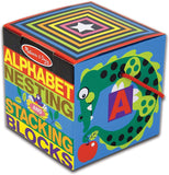 Alphabet Nesting and Stacking Blocks - Puzzlers Jordan