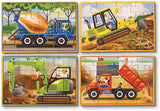 Wooden Jigsaw Puzzles in a Box - Construction - Puzzlers Jordan