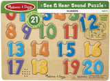 Numbers Sound Puzzle - Puzzlers Jordan