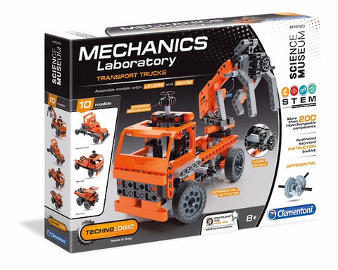 Mechanics Lab- Mining Trucks - Puzzlers Jordan