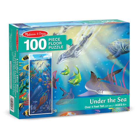 Under the Sea: 100-Piece Floor Puzzle - Puzzlers Jordan