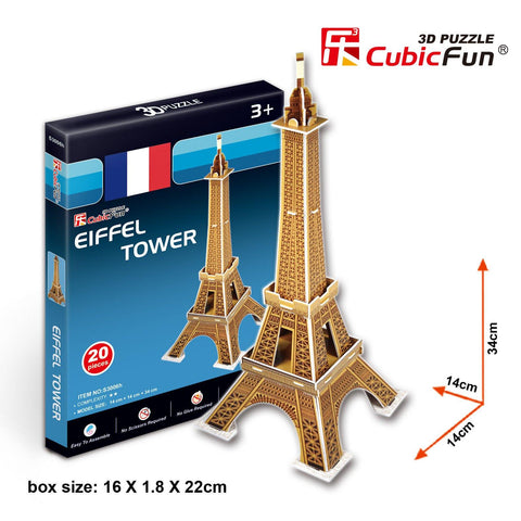 Eiffel Tower (France) - Puzzlers Jordan
