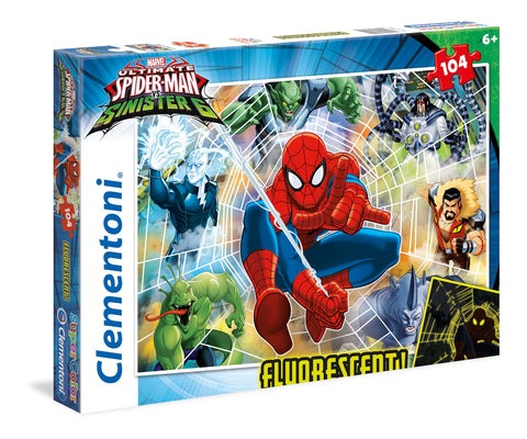 Marvel Ultimate Spider man and The Sinister Six - Puzzlers Jordan