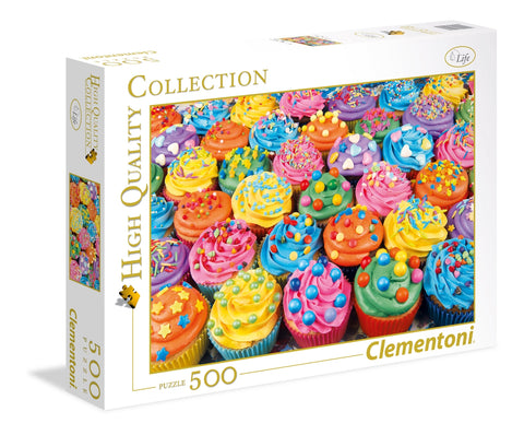 Colorful Cupcakes - Puzzlers Jordan