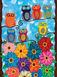 Colorful Owls - Puzzlers Jordan