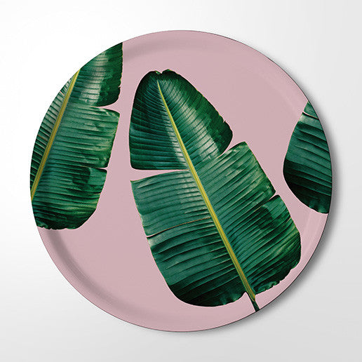 Serving Tray - Wild Strelitzia (pink)