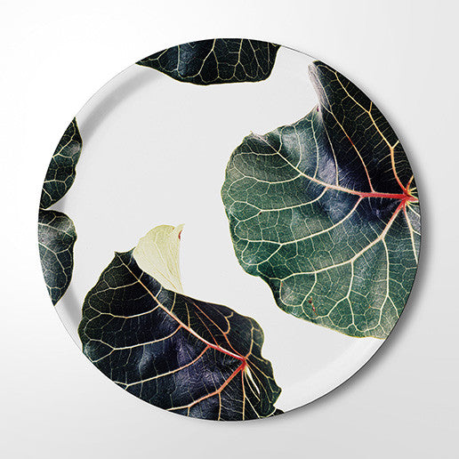 Serving Tray - Classic Botanical Leaves