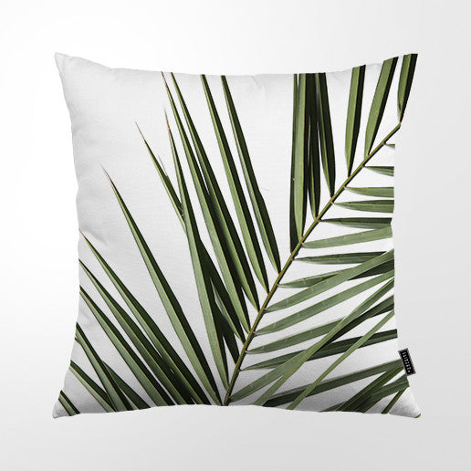 Cushion Cover - Coastal Palm Frond 01