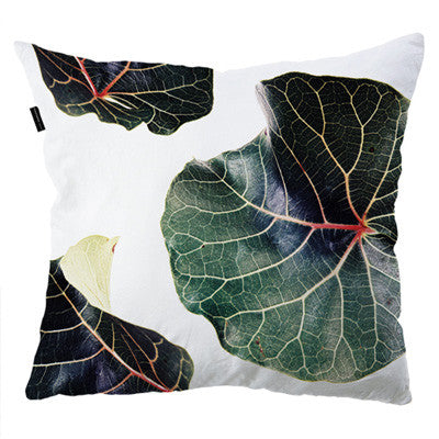 Cushion Cover - Classic Botanical Leaves