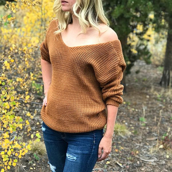 Catch Your Eye Twist Sweater