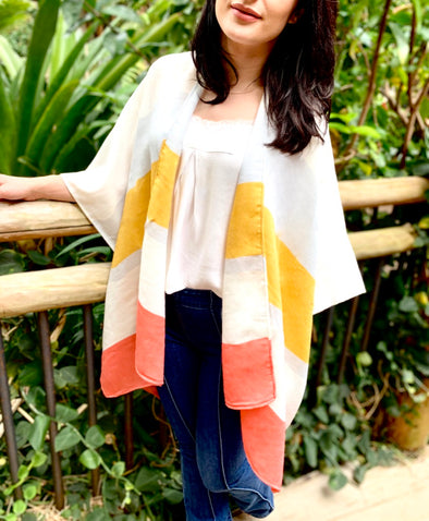 Summer Mode Striped Cardigan