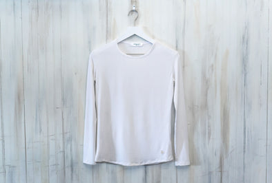 'Wear Anywhere' Long Sleeve Tee - White