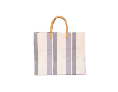 Pacific Wave Striped Tote