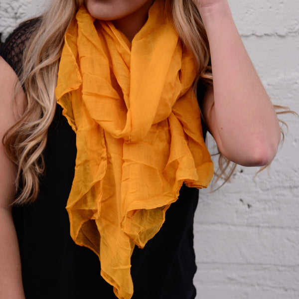 Sweet as Honey Scarf