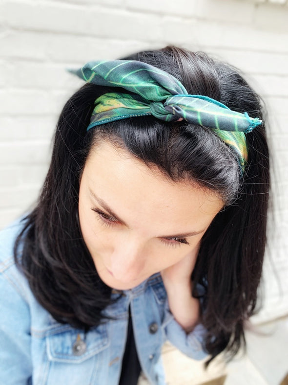 Pretty Palms Wire Wrap Headband