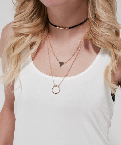 Always Up For A New Adventure Necklace