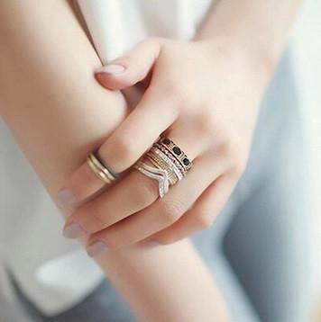 Wild and Free Midi Ring Set