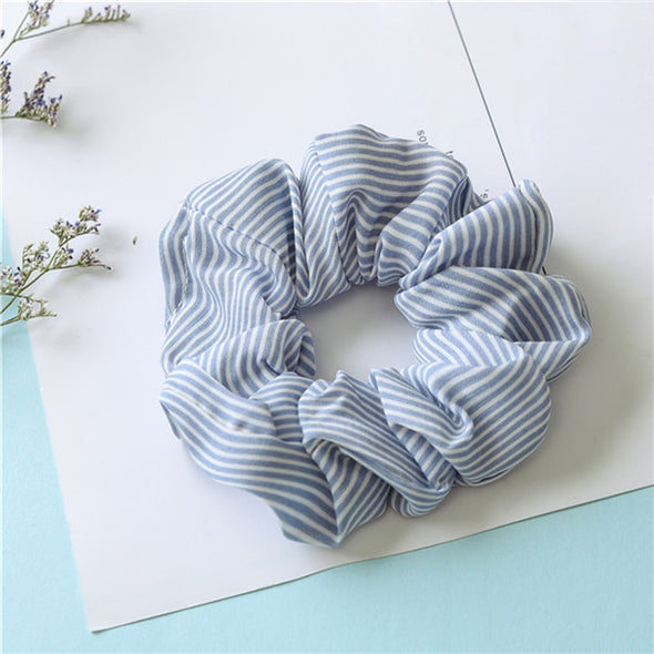 Cecilia Striped Scrunchie