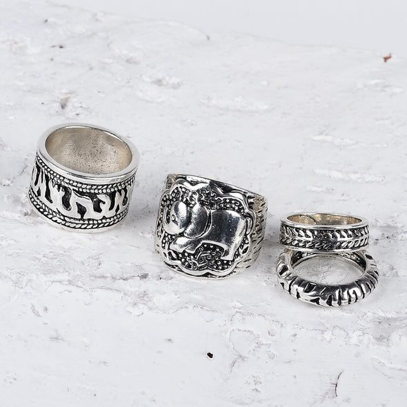 Safari Ring Set