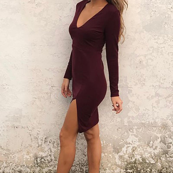 Wild Heart V Neck Dress