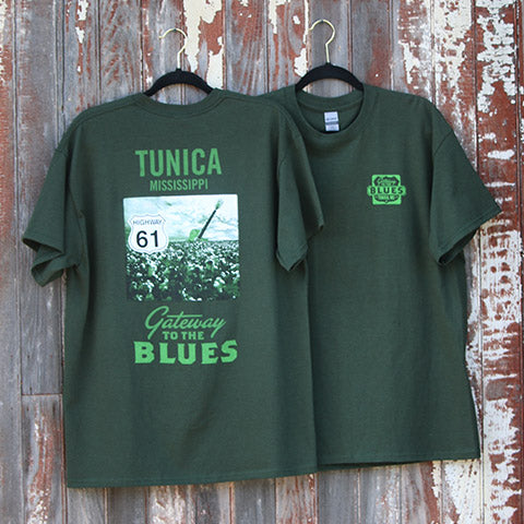 Tunica, MS - Cotton Field Logo T-Shirt