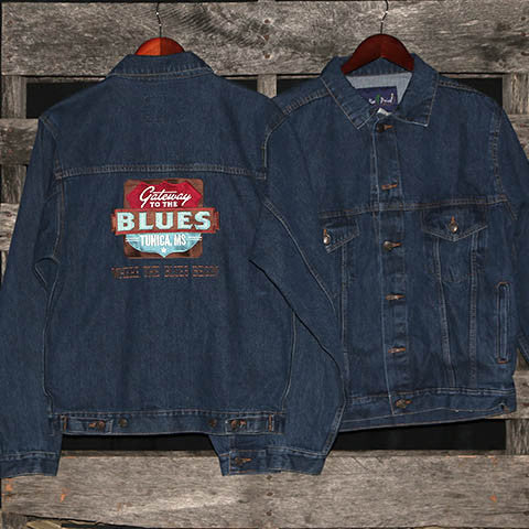 Gateway to the Blues Denim Jacket