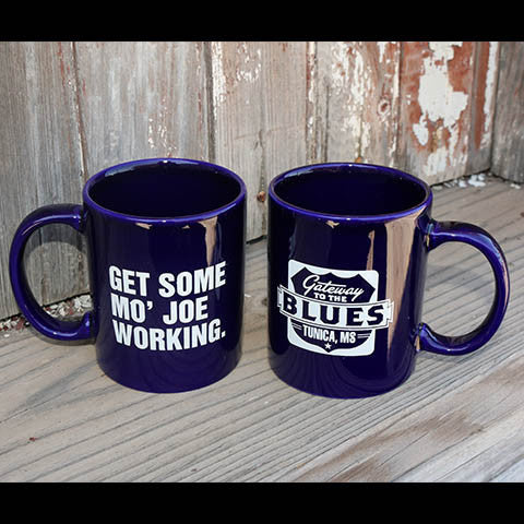 "Gateway to the Blues ""Get Some Mo Joe Working"" Coffee Mug"