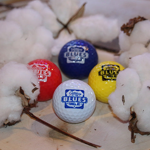 Tunica, MS -- Gateway to the Blues Logo Golf Balls