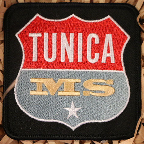 Tunica MS Logo Embroidered Patch