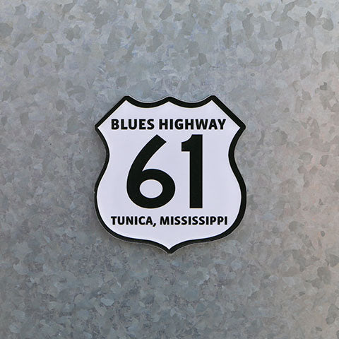 Blues Highway 61 Road Sign Magnet