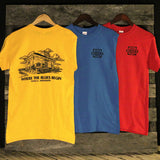 Gateway to the Blues Train Depot Image T-Shirt