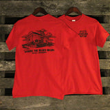 Tunica, MS - Train Depot T-Shirt
