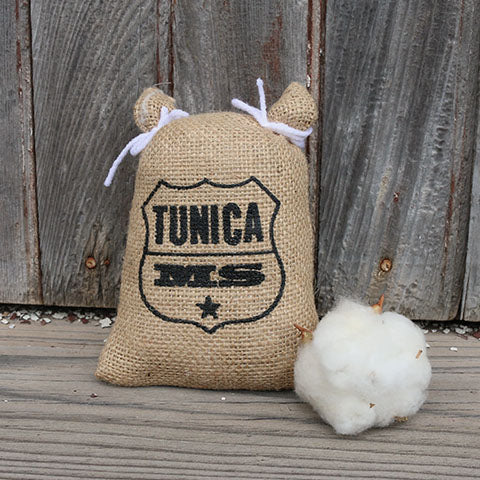 Tunica, MS Logo Cotton Seed Sack