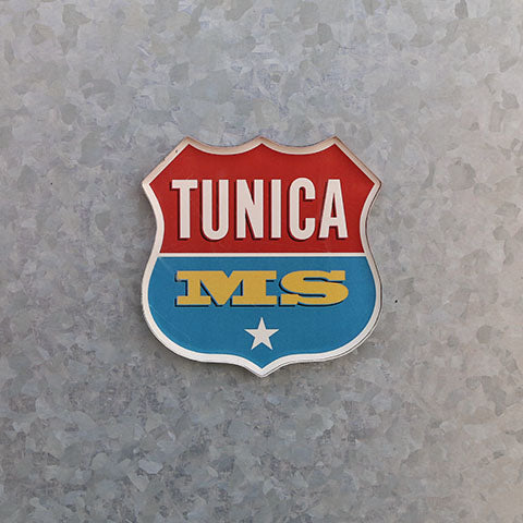 Tunica, Mississippi | Tunica MS Logo Magnet | Gateway to the Blues Museum