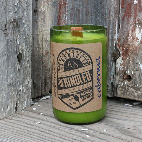 Mississippi Made Rekindled Candles -- Cabernet