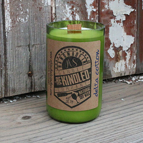Mississippi Made Rekindled Candles -- Delta Cotton