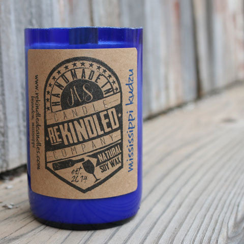 Mississippi Made Rekindled Candles - Mississippi Kudzu