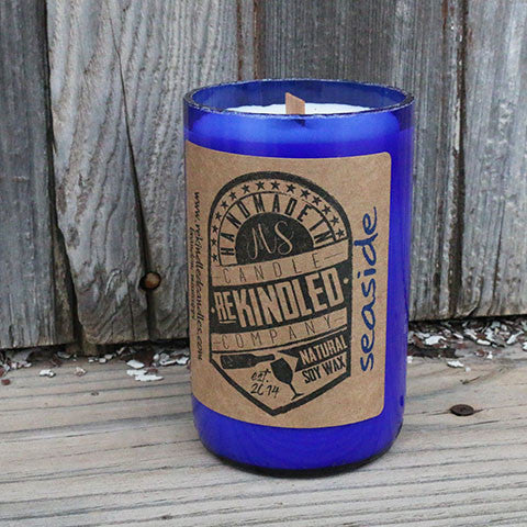 Mississippi Made Rekindled Candles -- Seaside