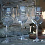 Gateway to the Blues Pewter Logo Wine Glass