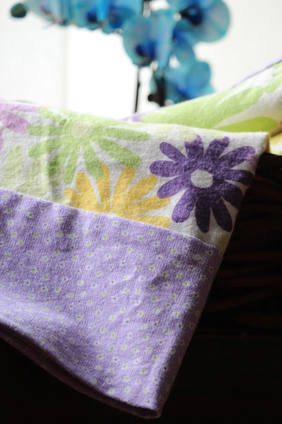 Flannel Pillowcase - Spring Pastels