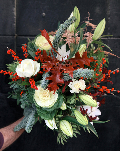 Festive Winter Bouquet