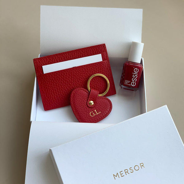 Set cadeau ESSIE Love | Scarlet & Gold